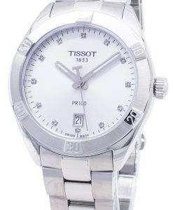 Tissot T-Classic PR 100 Sport T101.910.11.036.00 T1019101103600 Diamond Accents Quartz Women's Watch