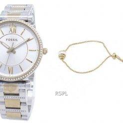 Fossil Carlie Mini ES4517SET Quartz Analog Women's Watch