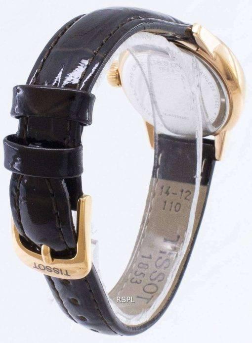 Tissot T-Classic Carson Lady T085.210.36.013.00 T0852103601300 Quartz Analog Women's Watch