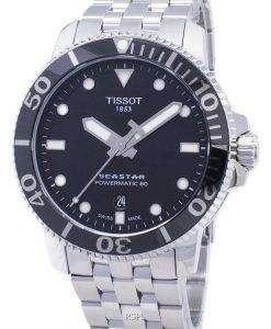 Tissot T-Sport Seastar T120.407.11.051.00 T1204071105100 Powermatic 80 300M Men's Watch