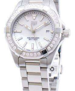 Tag Heuer Aquaracer WBD1413.BA0741 Diamond Accents Quartz 300M Women's Watch
