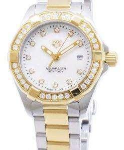 Tag Heuer Aquaracer WBD1423.BB0321 Diamond Accents Quartz 300M Women's Watch