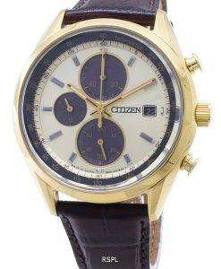 Citizen Eco-Drive CA0452-01P Chronograph Analog Men's Watch