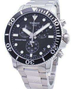 Tissot T-Sport Seastar 1000 T120.417.11.051.00 T1204171105100 Chronograph 300M Men's Watch