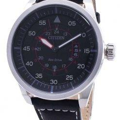 Citizen Eco-Drive Aviator Power Reserve AW1360-04E Mens Watch