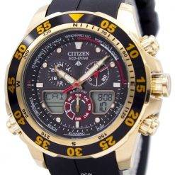 Citizen Eco-Drive Promaster Chronograph World Time JR4046-03E JR4046 Mens Watch