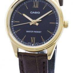 Casio Quartz LTP-V005GL-1B2 LTPV005GL-1B2 Analog Women's Watch