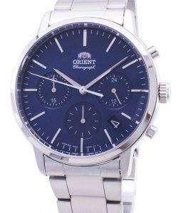 Orient Contemporary Chronograph RA-KV0301L00C Quartz Japan Made Men's Watch