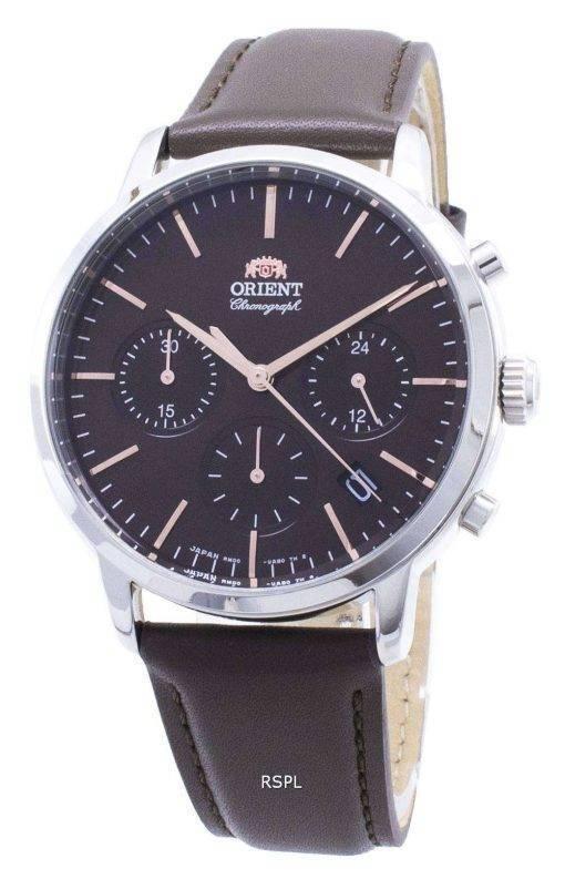 Orient Contemporary Chronograph RA-KV0304Y00C Quartz Japan Made Men's Watch