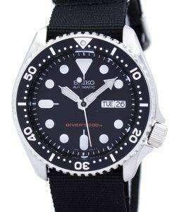 Seiko Automatic Diver's 200M NATO Strap SKX007K1-NATO4 Men's Watch