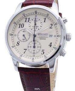Seiko Chronograph SNDC31P1 SNDC31 SNDC31P Men's Watch