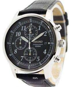 Seiko Chronograph SNDC33 SNDC33P1 SNDC33P Quartz Men's Watch