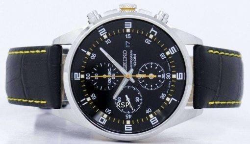 Seiko Quartz Chronograph SNDC89P2 Mens Watch