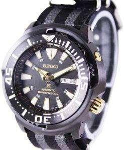"""Seiko Prospex """"Baby Tuna"""" Automatic Diver's 200M SRP641K1-NATO1 Men's Watch"""