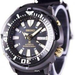 """Seiko Prospex """"Baby Tuna"""" Automatic Diver's 200M SRP641K1-NATO4 Men's Watch"""