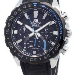 Casio Edifice EFS-S550PB-1AV EFSS550PB-1AV Chronograph Solar Men's Watch
