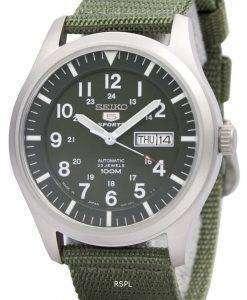 Seiko 5 Military Automatic Sports SNZG09J1 SNZG09J SNZG09 Mens Japan Made Watch
