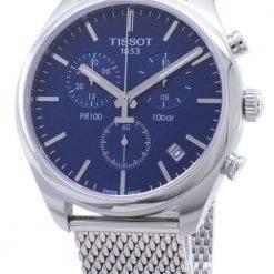 Tissot T-Classic PR 100 T101.417.11.041.00 T1014171104100 Chronograph Men's Watch