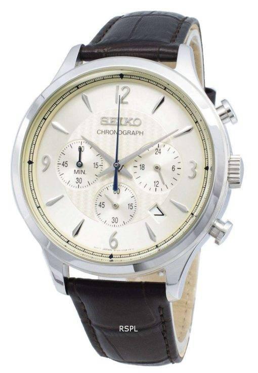 Seiko Chronograph SSB341P SSB341P1 SSB341 Analog Quartz Men's Watch