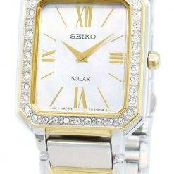 Seiko Conceptual SUP428P SUP428P1 SUP428 Diamond Accents Solar Women's Watch