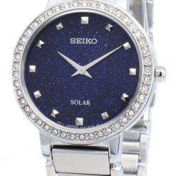 Seiko Conceptual SUP433P SUP433P1 SUP433 Diamond Accents Solar Women's Watch