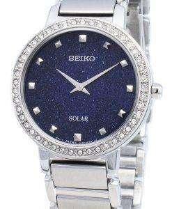 Seiko Conceptual SUP433P SUP433P1 SUP433 Diamond Accents Solar Women's Watch