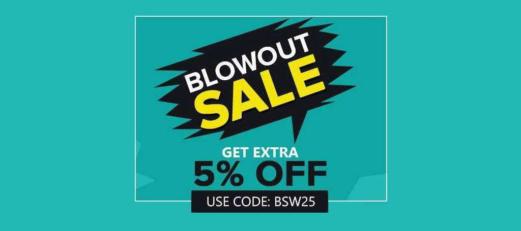 blow out sale
