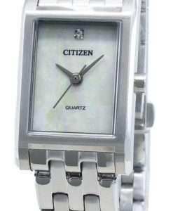 Citizen Quartz EJ6121-51D Diamond Accents Women's Watch