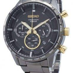 Seiko Chronograph SSB363 SSB363P1 SSB363P Tachymeter Quartz Men's Watch
