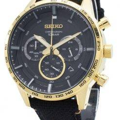 Seiko Chronograph SSB364 SSB364P1 SSB364P Tachymeter Quartz Men's Watch