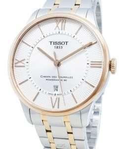 Tissot Chemin Des Tourelles T099.407.22.038.02 T0994072203802 23 Jewels Automatic Men's Watch