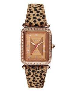 Fossil Lyric ES4684 Diamond Accents Quartz Women's Watch