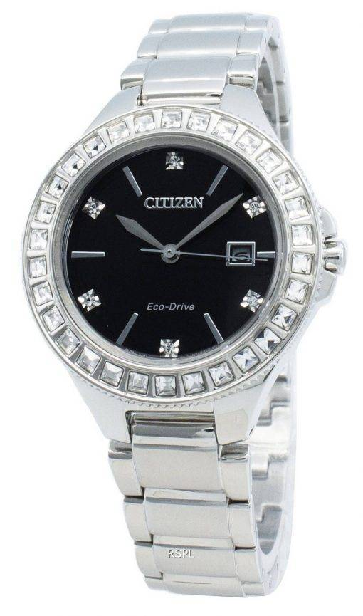 Citizen Silhouette FE1190-53E Diamond Accents Eco-Drive Women's Watch