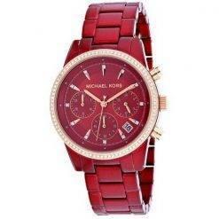 Michael Kors Ritz MK6665 Diamond Accents Quartz Women's Watch