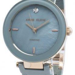 Anne Klein 1018RGLB Diamond Accents Quartz Women's Watch