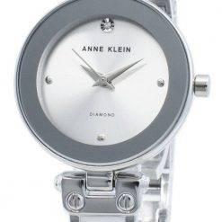 Anne Klein 1981WTSV Diamond Accents Quartz Women's Watch