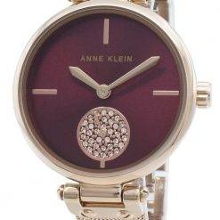 Anne Klein 3000BYRG Diamond Accents Quartz Women's Watch
