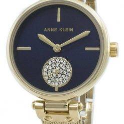 Anne Klein 3000NVGB Diamond Accents Quartz Women's Watch