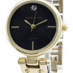 Anne Klein 3003GPBL Diamond Accents Quartz Women's Watch