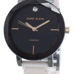 Anne Klein 3365GYLP Diamond Accents Quartz Women's Watch