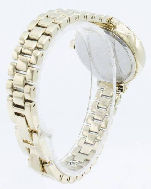 Anne Klein 3386CHGB Diamond Accents Quartz Women's Watch