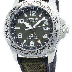 Citizen Promaster BJ7100-23X World Time Eco-Drive 200M Men's Watch