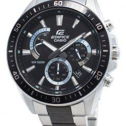 Casio Edifice EFR-552SBK-1AV EFR552SBK-1AV Chronograph Men's Watch