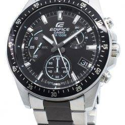 Casio Edifice EFV-540SBK-1AV EFV540SBK-1AV Chronograph Quartz Men's Watch