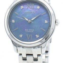 Citizen Eco-Drive EM0720-85N Diamond Accents Women's Watch