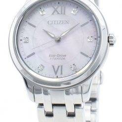 Citizen Eco-Drive EM0720-85Y Diamond Accents Women's Watch