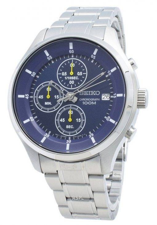 Seiko Chronograph SKS537 SKS537P1 SKS537P Quartz Men's Watch