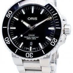 Oris Aquis Date 01 733 7730 4134-07 8 24 05PEB 01-733-7730-4134-07-8-24-05PEB Automatic 300M Men's Watch