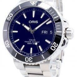 Oris Aquis Big Day Date 01 752 7733 4135-07 8 24 05PEB 01-752-7733-4135-07-8-24-05PEB Automatic 500M Men's Watch