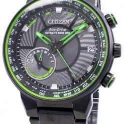 Citizen Eco-Drive Satellite Wave GPS CC3075-80E World Time Men's Watch